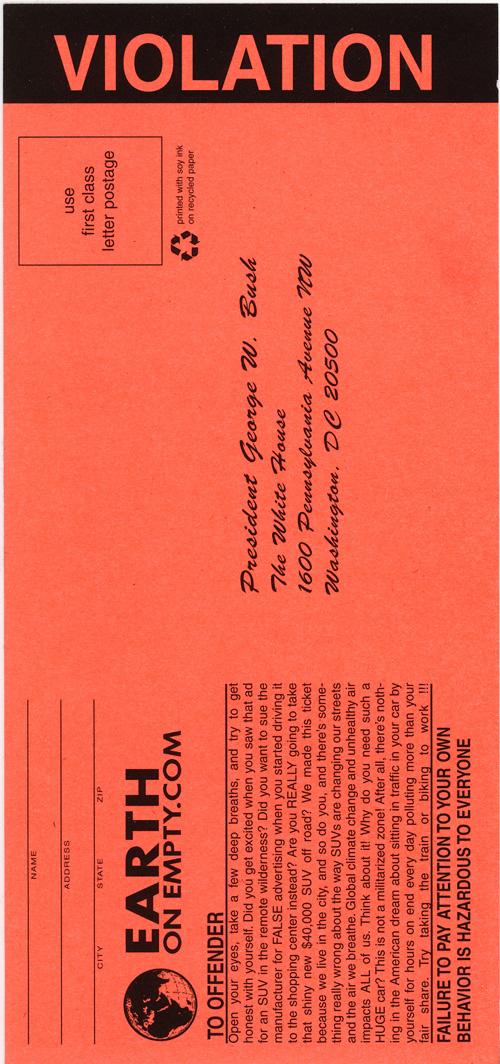 Documentation of fake parking tickets altavistaventures Images